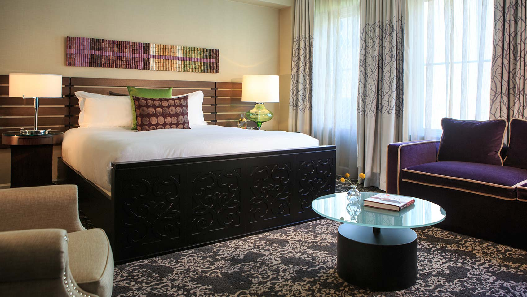 Hotels In Seattle >> Seattle Boutique Hotel Rooms Kimpton Hotel Vintage Seattle