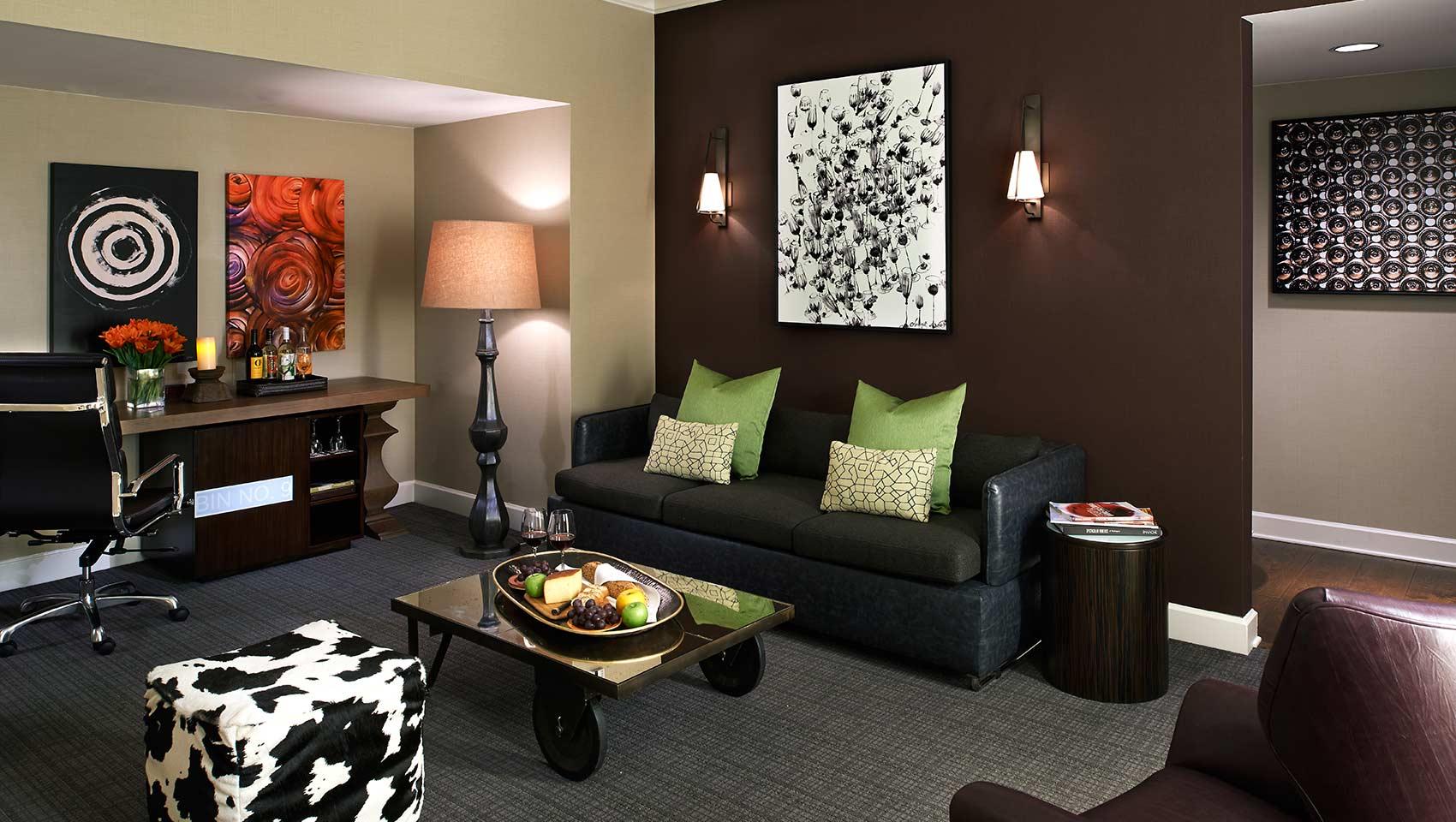 Kimpton Hotel Vintage Seattle Suite Living Room