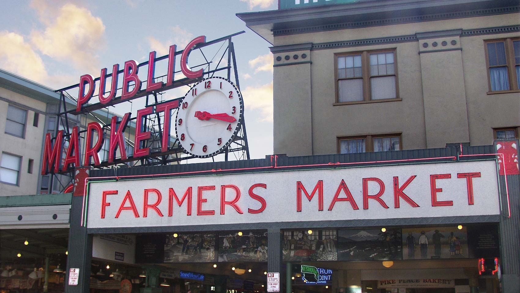 Seattle Pike Place Market near Kimpton Hotel Vintage Seattle