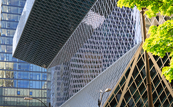 seattle library hotels